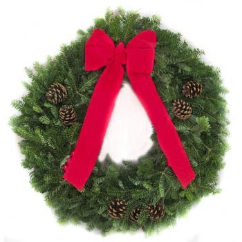 Classic Christmas Wreath-2