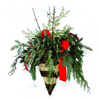 Christmas Hanging Basket