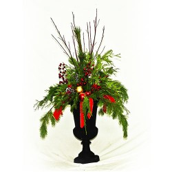 Deluxe Christmas Urn with 10″ Insert
