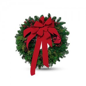 Christmas Magic Wreath 36""